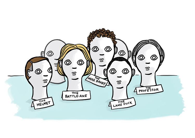 Presidential wigs