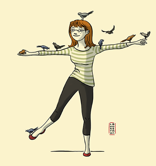 Birdlady of knoxville