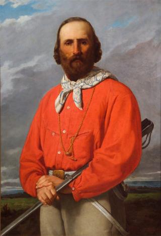 Ritratto di Giuseppe Garibaldi by lega 1861